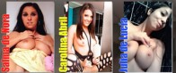 Three horny parties with Carolina Abril, Julia de Lucia and me!