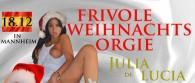 Orgie in Mannheim mit Julia de Lucia!